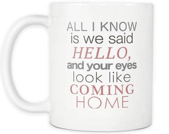 Taylor Swift Everything Has Changed Song Quote Coffee Mug The Swiftie Tay Tay Mug For The Swifty Fan I Love Taylor Swift Coffee Mug Song