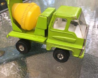 Cement mixer toy truck