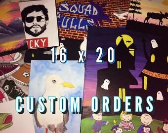 Custom Painting Orders
