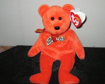 "Beanie Babies,  ""Elvis""  orange"