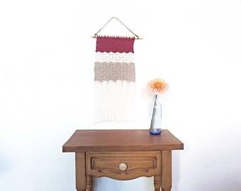 Crochet Tapestry Polar Day