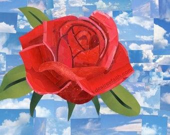 Heavenly Rose *Original Artwork*