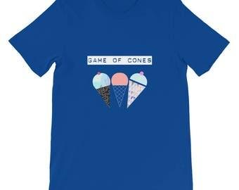 game of cones, sweet cones, ice cream shirt, icecream shirt, ice cream t shirt, icecream, food shirt, game of throne shirt, game of thrones
