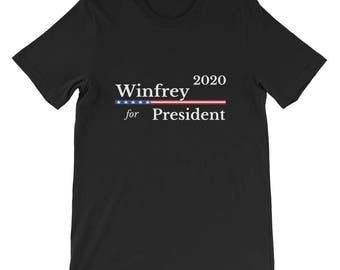 Oprah Winfrey for President in 2020 T-shirt