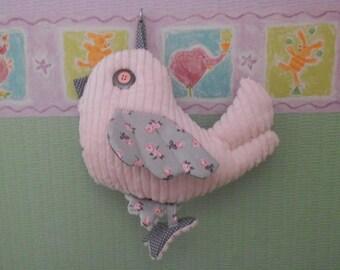Doudou musical bird