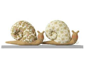 TILDA snail Kit - collection Pardon my Garden