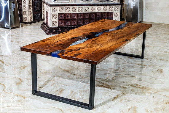 dining wood table table river table wood epoxy slabs. Black Bedroom Furniture Sets. Home Design Ideas