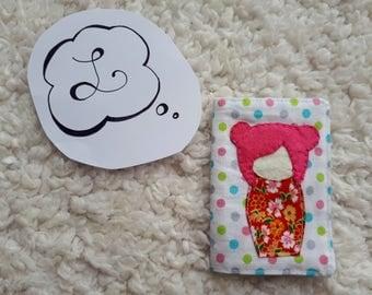 little Japanese card holder
