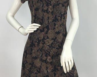 90s floral skater dress/vintage skater