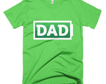 Dad Battery 01 Short-Sleeve T-Shirt