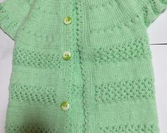 Aqua color 0-12 months Baby Jacket