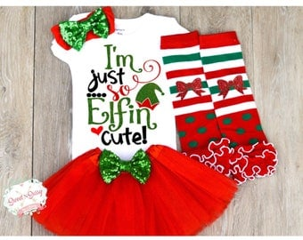 Christmas outfit for newborn, Newborn Christmas Outfit, Cute Christmas Outfit for Baby, Christmas Outfit for Toddlers Z12
