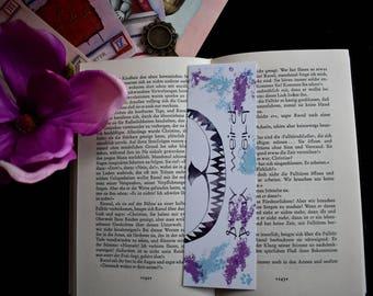 Alice in Wonderland bookmark Stay Weird
