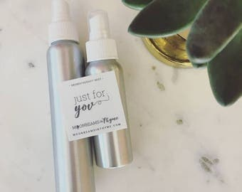 Just For You Custom Essential Oil Aromatherapy Mister