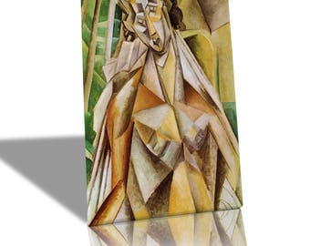 Canvas paintings Canvas-Picasso-Nude in Armchair-yellow BUS