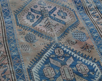Early 1900's Hand-woven Persian Rug