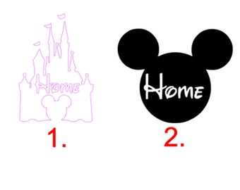 Disney Inspired Home Decal