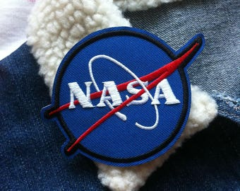 NASA Patch, Iron on Patch