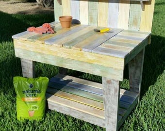 Potting Table, Planters Table, Gardners Table, Gardners Workbench, Potting  Workbench