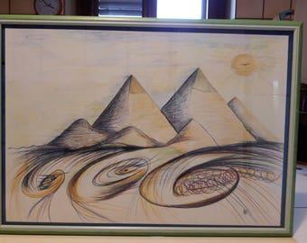 Astral pyramids