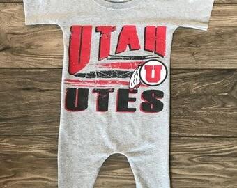 Utah Utes Romper Size 4T