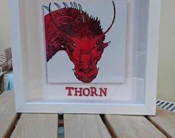 Thorn dragon. Eragon. Frame