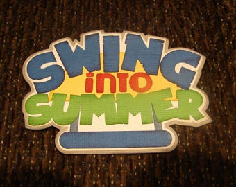 Swing into Summer DIY title
