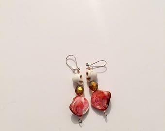mini skull earrings