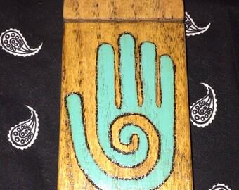 Native American Hopi hand Dugout Box