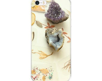Crystals/ Amethyst/iPhone 5 case/ iPhone Case 6, 7 , 8, 8 plus/Accessories Case/be a unicorn/Original Photography/Warm Design/