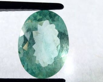 Natural Loose Gemstones Top Quality of Aquamarine  Over Shape 11.40 Carat