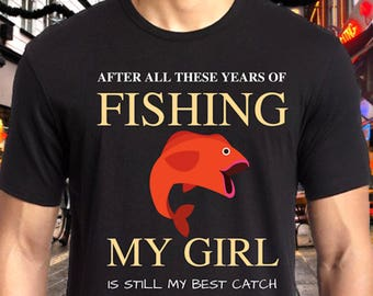 Fishing Tshirt for Men- Funny Fishing T Shirt, Bass Fishing Gifts, Fishing Gifts, Fishing Gifts for Men, Bass Fishing t-shirt, Fathers Day