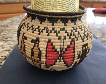 Authentic Hand Woven Basket