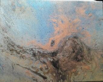 Galaxy Acrylic Painting