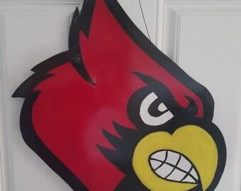 Cardinal Door Hanger & Cardinal door hanger | Etsy Pezcame.Com