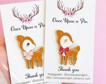 Deer Pin Set