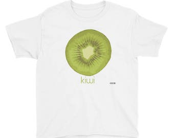 Kiwi T-Shirt - Kids - Foodie - Chef - Organic