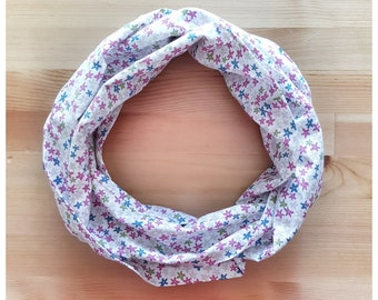 Infinity scarf, ring scarf, cotton