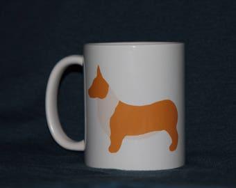 Corgis and coffee mug