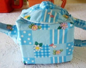 Teapot tissue box cover