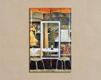 Tuscan Cafe 2   Light Switch Plate Covers Home Decor Outlet