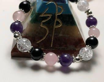 Gemstone Bracelet for stress