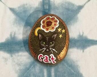 Cat Spirit Animal Stone