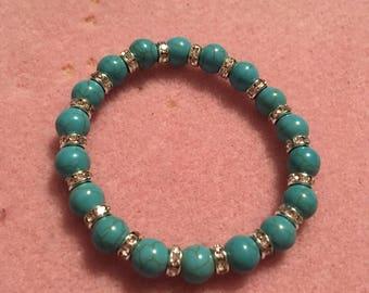 Torquise handmade bracelet