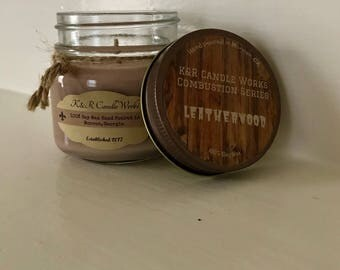 LeatherWood Combustion Series Candle