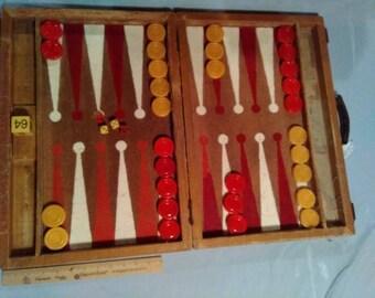 vintage/antique backgammon
