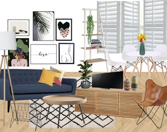 Fun Young Living room