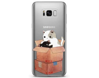 cat phone case Pixel 2 case cat Samsung 8 note case cat lover gift Google Pixel case cat Galaxy s7 case clear case cute Galaxy s8 case pixel