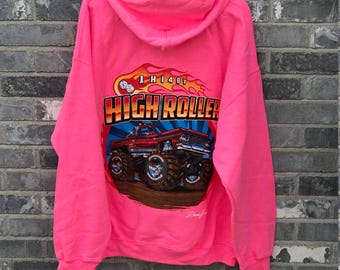 High Roller Monster Truck Hoodie