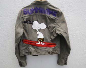 Summertime Levi's Denim Jacket